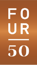 Four50 logo